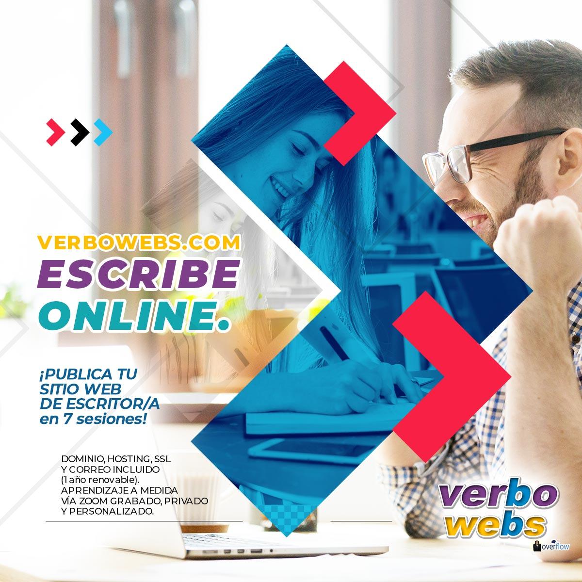 Suscribe un Sitio web de Escritor Digital - VerboWebs.com